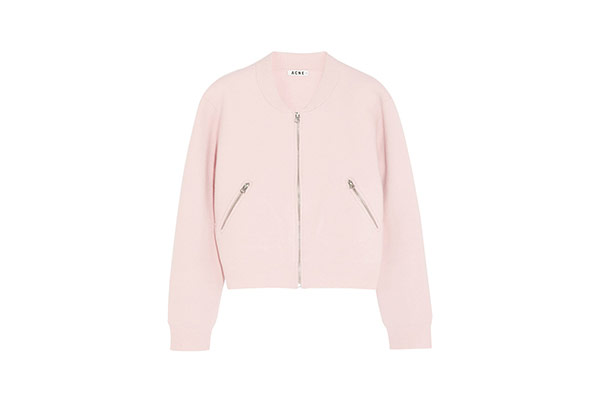 Pink - light pink bomber jacket by Acne